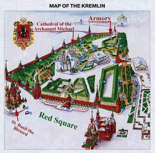 Kremlin Map The Armory, Sim...